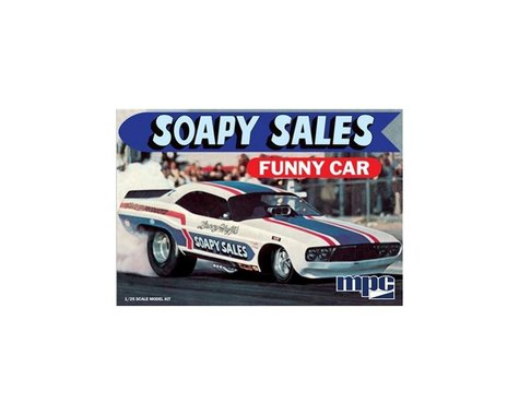 Round 2 MPC 1/25 Soapy Sales Challenger Funny Car