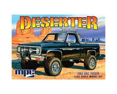 Round 2 MPC 1984 GMC Pickup; Black 1:25