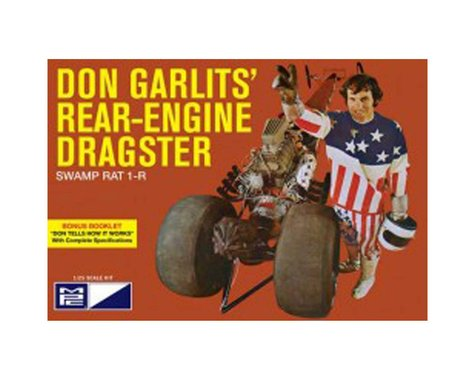 Round 2 MPC Don Garlits Wynns Charger Rear Engine Dragster