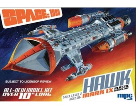 Round 2 MPC 1 72 Space  1999 Hawk Mk IX