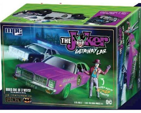 Round 2 MPC 1 25 1978 Batman Joker Goon Car Dodge Monaco