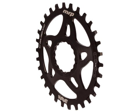 MRP Wave RaceFace Cinch Mount Oval Chainring (Black)