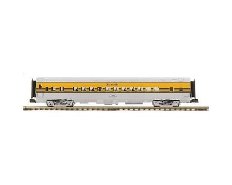 MTH Trains O 70' Streamline Smooth RPO D&RGW #1201
