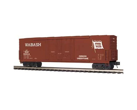 MTH Trains O 50' Double Door Plug Box WAB #50014