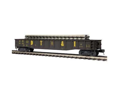 MTH Trains O Gondola w ScaleTrax Straights DT&I #9508