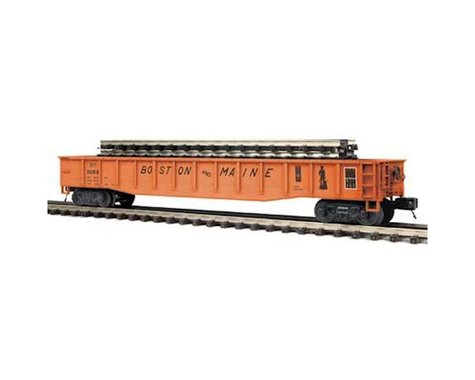 MTH Trains O Gondola w ScaleTrax Straights B&M #9088