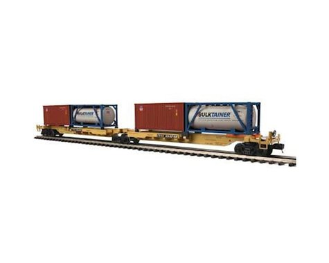 O Spine Car w 2 Containers TTX #65248 (2)