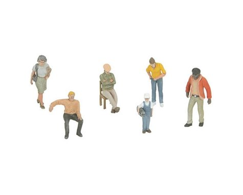 MTH Trains O Assorted Figures #2 (6)
