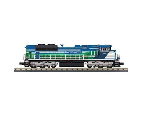 MTH Trains O-27 Imperial SD70ACe w PS3 EMD Demo #1501