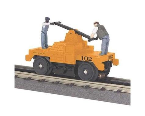 O-27 Operating Hand Car, MOW/Orange
