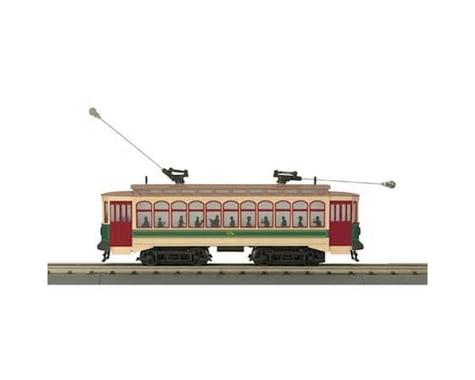 MTH Trains O-27 Brill Trolley w PS3 RDG #68