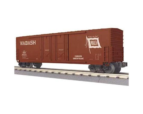 MTH Trains O-27 50' Double Door Plug Box WAB #50010