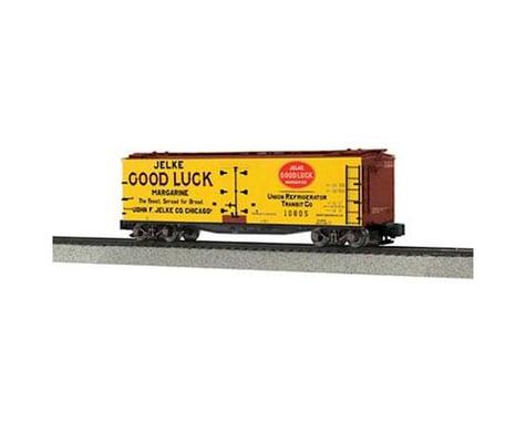 MTH Trains S 40' Wood Reefer, Jelke Good Luck Margarine#10805