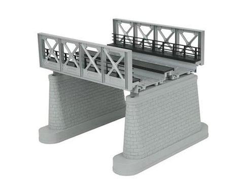 O 2-Track Girder Bridge, Silver