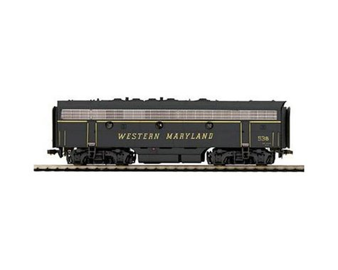 MTH Trains HO F7B with PS3, WM #53B