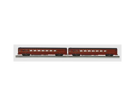 MTH Trains HO Smooth Parlor, PRR (2)