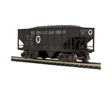 MTH Trains HO USRA 55-Ton Steel Twin Hopper Keystone #1588