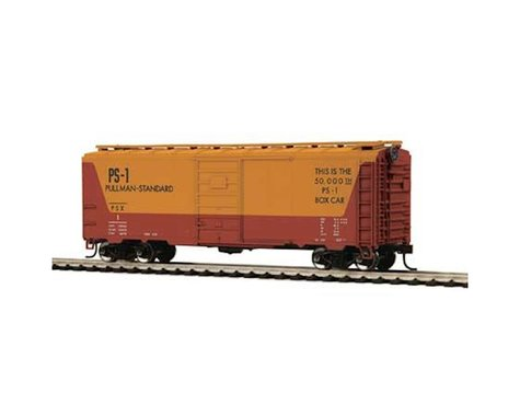 MTH Trains HO 40' PS-1 Box PULMN #1