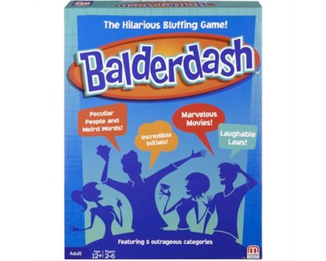 Mattel CFX43 Balderdash Game