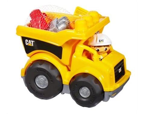 Mattel Mega Bloks Caterpillar Large Dump Truck