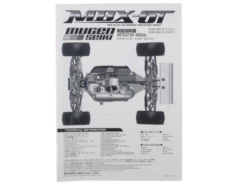Mugen Seiki MBX6T Instruction Manual