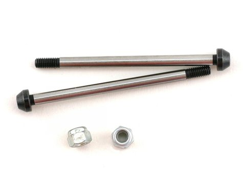 Mugen Seiki Option Rear Lower Suspension Shaft w/Nuts (2)
