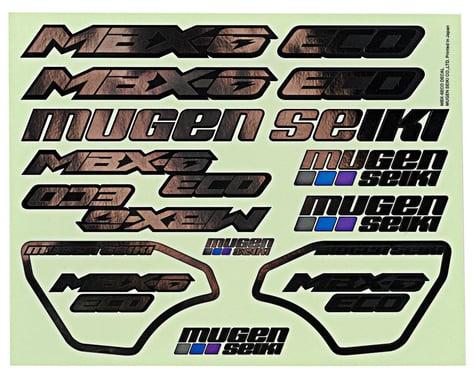 Mugen Seiki MBX6E ECO Decal Set (Chrome)