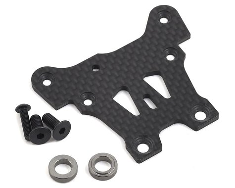 Mugen Seiki MBX8 Graphite Front Upper Steering Plate
