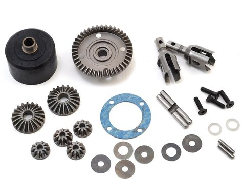 Mugen Seiki MBX8 HTD Front/Rear Differential Set (42T)