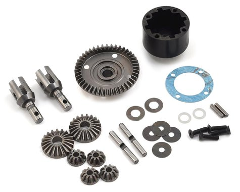 Mugen Seiki MBX8 HTD Front/Rear Differential Set (44T)