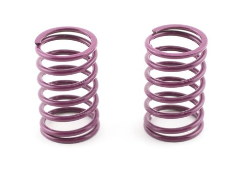 Mugen Seiki Rear Shock Springs 1.6 (Purple) (MTX) (2)