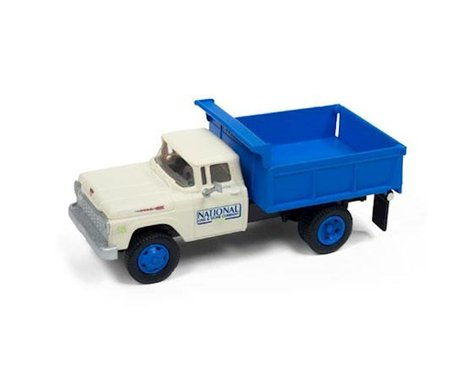 Classic Metal Works HO 1960 Ford Dump Truck, National Lime & Stone Co