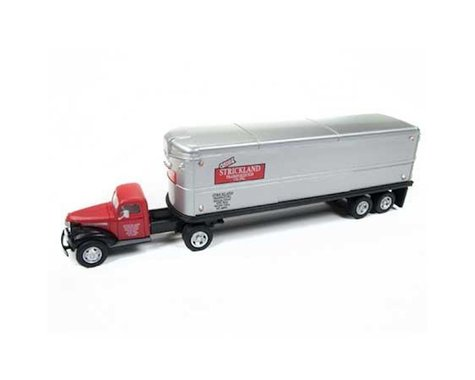 Classic Metal Works HO 1944-46 Chevy Tractor/Trailer, Strickland