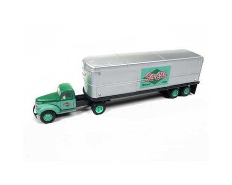 Classic Metal Works HO 1944-46 Chevy Tractor/Trailer, SoCal Freight