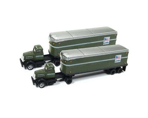 Classic Metal Works N White WC22 Tractor/Trailer Set, US Mail (2)