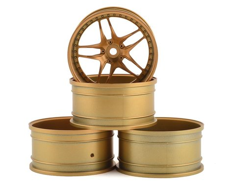 MST FB Wheel Set (Gold) (4) (+11 Offset)