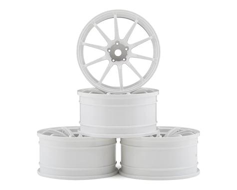 MST RS II Wheel Set (White) (4) (+9 Offset)