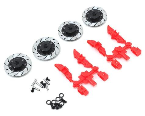 MST Alum. wheel hubs 6mm (brake disc shaped)