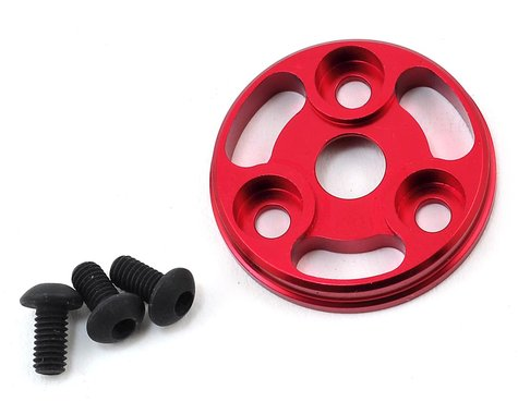MST RMX Aluminum Spur Gear Cover (Red)