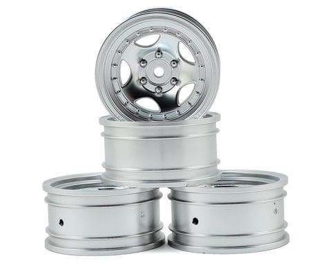 """MST 236 1.9"""" Wheel (Flat Silver) (4) (+5)"""