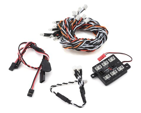 MyTrickRC Redcat Gen 8 Scout II Attack LED Light Kit w/UF-7B Controller & LEDs