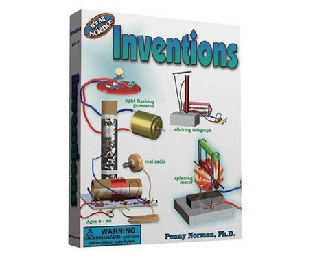 Norman & Globus  Sciencewiz Inventions Science Kit