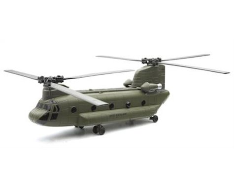 New Ray 1/60 CH47 Chinook US Army Helicopter (Die Cast)
