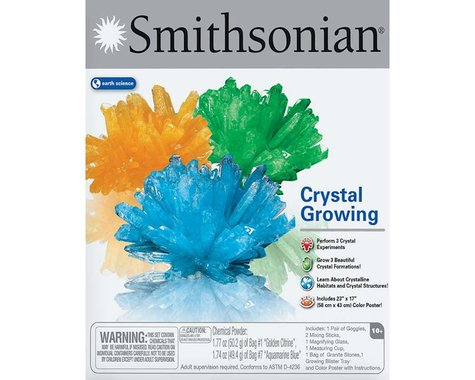 Natural Science Industries  Smithsonian Crystal Growing