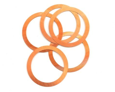 "Novarossi .28 Head Shim 0.10mm/0.004"" Copper (5)"