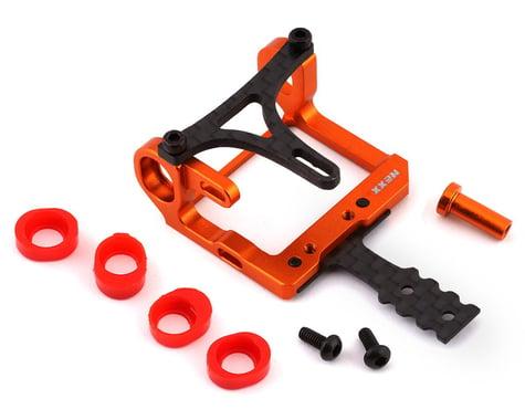 NEXX Racing Mini-Z 2WD LCG 98-102mm Aluminum Round Motor Mount (Orange)