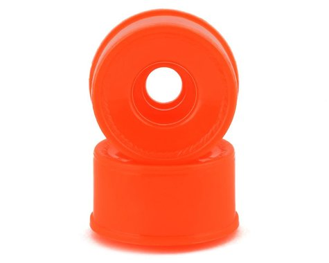 NEXX Racing Mini-Z 2WD Solid Rear Rim (2) (Neon Orange) (3mm Offset)