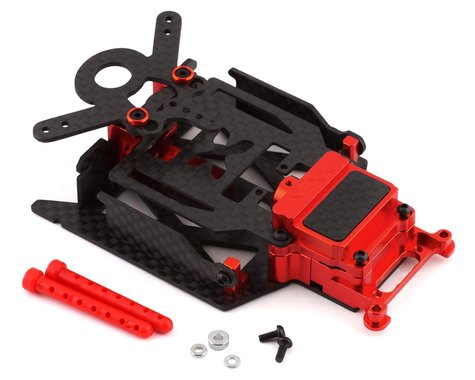 NEXX Racing Skyline Dual LiPo Carbon Chassis Conversion Kit for MR03 (Red)