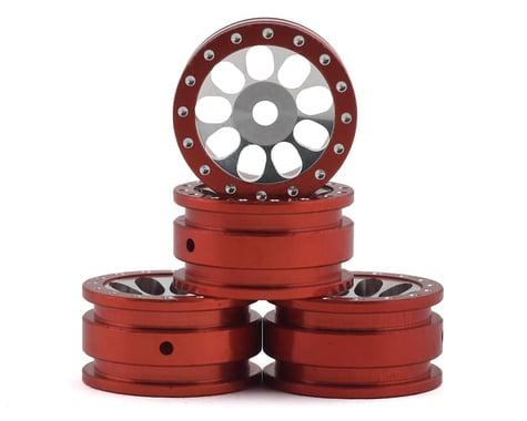 Orlandoo Hunter Aluminum Porous 9 Hole Wheel (Red) (4)