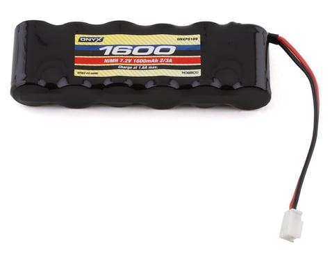 7.2V 1600mAh 2/3A NiMH Flat: Mini Plug